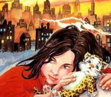 A protagonista da história, Pimpa, no detalhe da capa do livro. Essa ilustração e as outras encontradas no miolo foram criadas por Marcus Sant´Anna.