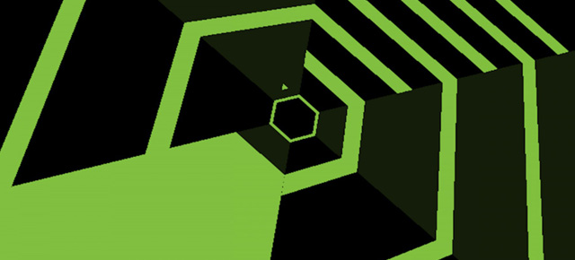 super hexagon capa