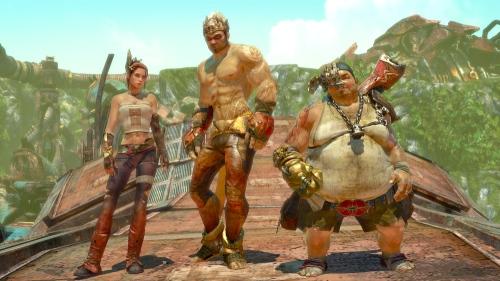 A qualidade do character design compensa, e muito, a falta de uma variabilidade significativa de personagens.