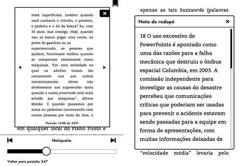 """Exemplos de """"Conecte-se ao que Importa"""" de Pedro Burgos (um puta livro, diga-se de passagem)."""